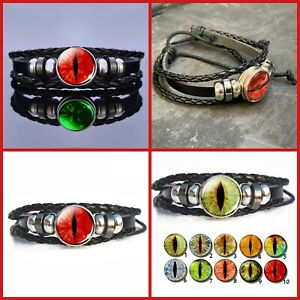 Game Of Thrones All Seeing Smaug Dragon Eye Glow In The Dark Bracelet Bangle