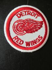 "1970's DETROIT RED WINGS HOCKEY PATCH CREST VINTAGE NHL TEAM LOGO EMBLEM 3"""