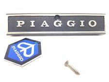 Plaque + Écusson Orrnement Armes Nex de Klaxon Piaggio Vespa Px 125 150 Vor