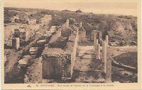BF18941 rue dallee et maison de la mosaique a carthage tunisia  front/back image
