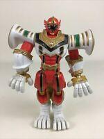 "Power Rangers Mystic Force Mega Morphin Red Ranger 7"" Action Figure 2006 Bandai"