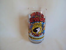 Collectible 1982 King Features Syndicate Popeye Drinking Glass