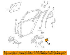 GM OEM Front Door-Guide 16624405