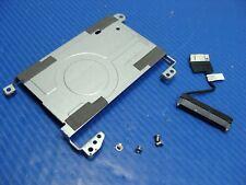 "HP Pavilion Sleekbook 14"" 14 OEM HDD Hard Drive Caddy w/ Screws Connector GLP*"