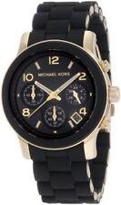 Michael Kors Quartz Black Dial with Black Goldtone Bracelet Womens Watch mk5191