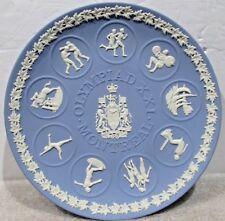 Wedgwood Jasperware Plate <> Olympiad Xxi Montreal <>