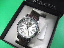 BULOVA ACCU-SWISS 63A124 SELLITA SW200 AUTOMATIC 26 JEWELS MEN'S WATCH S/S CASE