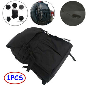 600D Oxford + 210D Oxford Off-road Vehicle Car Tyre Hanging Bags Tire Cover Bag