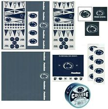 Penn State University NCAA Scrapbook Kit Paper Stickers Patch Duck Tape U-CHOOSE