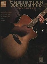 Christian Acoustic Favorites: Easy Guitar with Notes & Tab by Hal Leonard Corp.