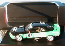 NISSAN SKYLINE GT-R #87 HKS ADVAN JTC 1992 HANE HAGIWARA HPI RACING 1/43 RESINE