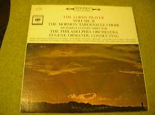 LP THE LORD'S PRAYER-VOL II-MORMON TABERNACLE CHOIR-CONDIE-ORMANDY