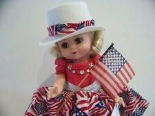 "New! Madame Alexander Star Spangled Gal 8"" Doll 26980 - In Original Box"