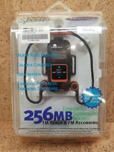 NEW Vintage Yepp's Sports Samsung YP-60 V MP3 Player Tuner Heart Rate NOS