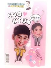 Kim Soo Hyun Photo Standing Doll Key Holder Set KPOP Korea Actor Movie Drama