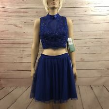 Love Reign Tulle Skirt Sequin Crop Top Special Occasion Sz 13 Juniors Prom