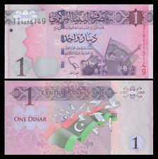 Libya 1 DINAR ND 2013 P 76 UNC OFFER !