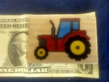 Rubber Ink Stamp Farm Farming Tractor with Cab