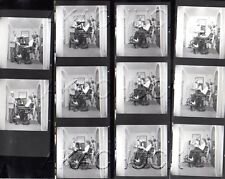 Old Fashion Patient Dental Chair HENDRICKSON Negatives Photo Contact Sheet D752
