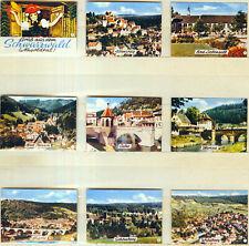 9er Streichholzetikettenserie 46b - Gruß aus dem Schwarzwald (Nagoldtal)
