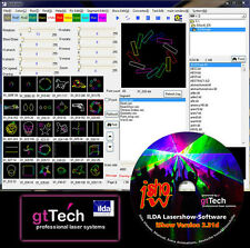 IShow Version 2.31g ILDA Lasershow Software inkl. USB ILDA Interface und Kabel