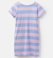 Joules Ottie Dress (Blue Pink Stripe) **Now With Over 30% Off**