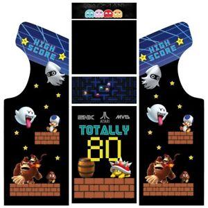 Stickers borne arcade - Modèle 80's