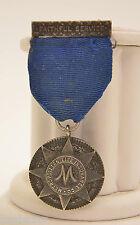 Tiffany & Co. Vintage Metropolitan Life Insurance Co. Faithful Service Medal