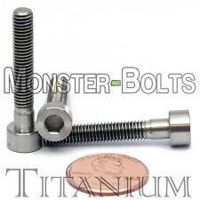 5mm x 0.80 x 30mm - TITANIUM SOCKET HEAD CAP Screw - DIN 912 Grade 5 Ti M5 Hex