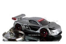 Custom Key Chain Renault Sport RS 01 silver