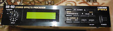 BOSS SE-50 Stereo Effects Processor (new internal battery) & AC12volts adapter