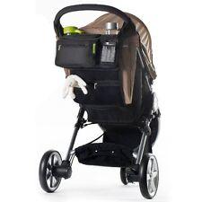 Baby Stroller Safe Console Tray Pram Hanging Bag/Bottle Cup Holder Organizer