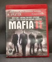 Mafia II (Sony PlayStation 3, 2010) PS3 Video Game