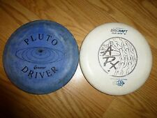 Pluto Drive and Discraft Approach-Putter Frisbee Golf Disc