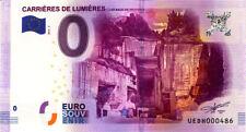 13 LES BAUX Carrières de Lumières, 2016, Billet 0€ Souvenir