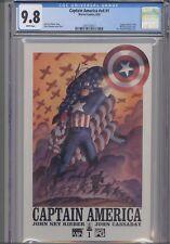 Captain America V4 #1 CGC 9.8 Marvel 2002 Comic: Homage Cover  New Frame