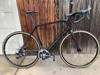 2017 Focus Paralane Ultegra Dura Ace Carbon Road Bike 58cm disc XL
