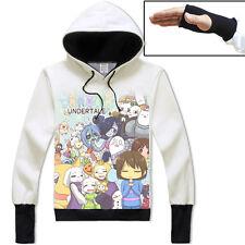 Anime Undertale Chara/Undyne Unisex Jacket Cosplay Hoodie Pullover Coat#41-N40