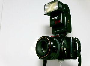 Minolta 5000 AF mit Zubehör und Fototasche