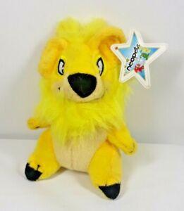 """Neopets Yellow Yurble Bear McDonalds Mini Promo Plush Toy 4"""" A1"""