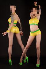 590 Latex Rubber Gummi outfits Bra set shorts underwear panties customized 0.4mm
