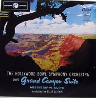 HOLLYWOOD BOWL SYMPHONY ORCHESTRA Grofe' Grand Canyon Mississippi Suite LP