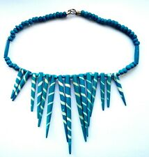 handmade necklace 42 cm genuine wooden American Indians