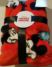 "NEW Disney MICKEY MOUSE 40"" x 50"" SOFT THROW BLANKET"