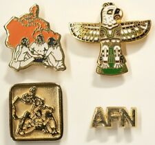 Vintage First Nations Canada Pins Lot of 3 Totem #10121