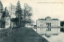 Carte LE VAL SAINT GERMAIN Château du Marais et vieux Moulin