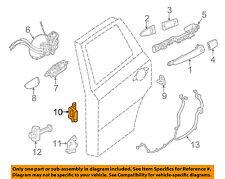 NISSAN OEM Lock -Rear Door-Upper Hinge Left 824019AM0A