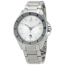Calvin Klein Play Silver Dial Mens Stainless Steel Watch K2W21Y46
