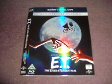 E.T. Anniversary Swedish Blu Ray Reflective Slipcase/Cover Only