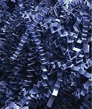 Crinkle Cut Paper Shreds ~Blue~ Filler for Packing Gift Baskets and Boxes, 10 LB